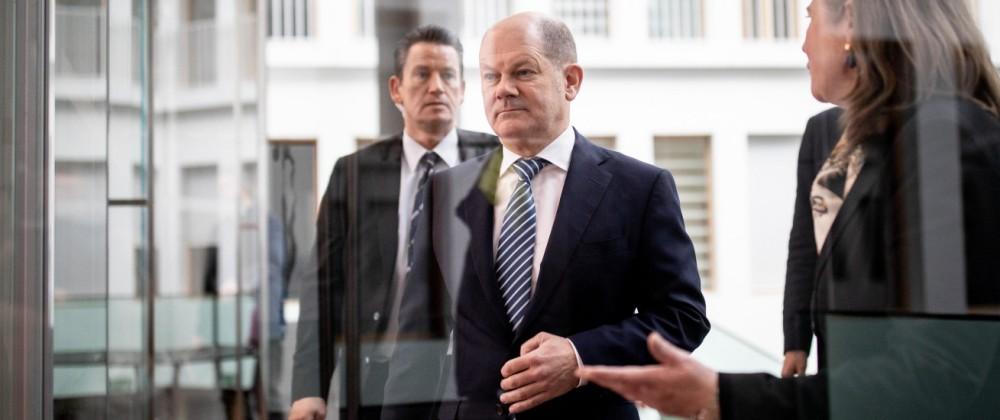 Scholz stellt Gesetzentwurf vor