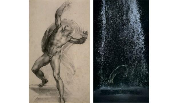 Ausstellung Royal Academy -- Bill Viola / Michelangelo: Life, Death, Rebirth