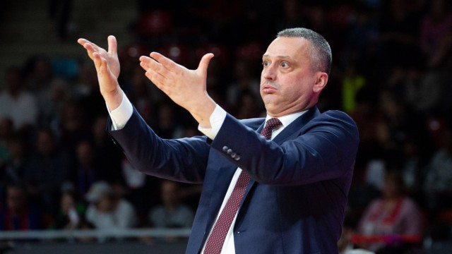 FCBB Coach Dejan RADONJIC FCB Basketball FC Bayern FCB BG Goettingen GOE Bundesliga 20; Basketball