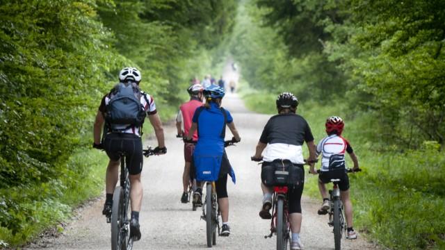 Fahrradtour im Eberberger Forst, 2014