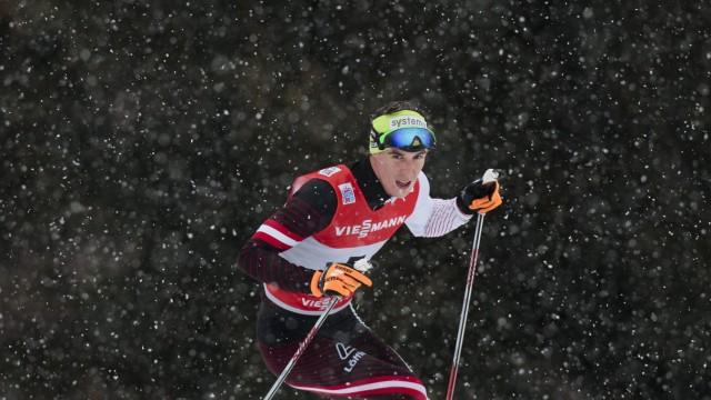 05 01 2014 Langlaufstadion Lago di Tesero ITA FIS Tour de Ski Langlauf Herren Individual Start