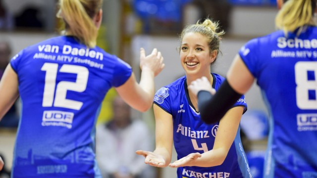 CEV CL Beziers Angels FRA Allianz MTV Stuttgart 6 Februar 2019 Volleyball Champions League Da