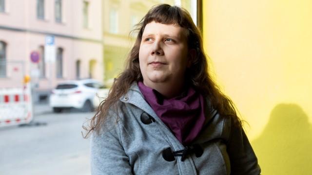 Jeanne Riedel im Baader Café am 20.02.2019 in der Baaderstraße in München.
