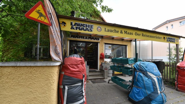 81b9061ab8fb08 Ende des Outdoor-Ausrüsters Lauche   Maas - München - Süddeutsche.de