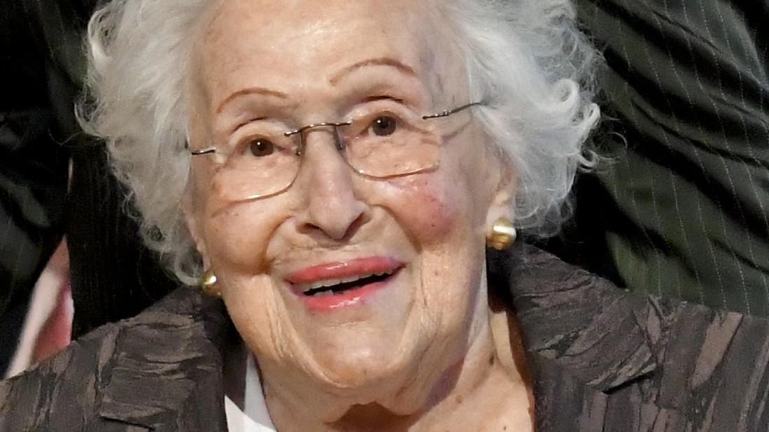 Sängerin Hilde Zadek im Alter von 101 Jahren gestorben