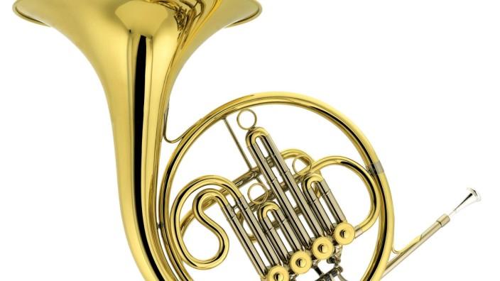 french horn PUBLICATIONxINxGERxSUIxAUTxONLY Copyright xpferdx Panthermedia00331804