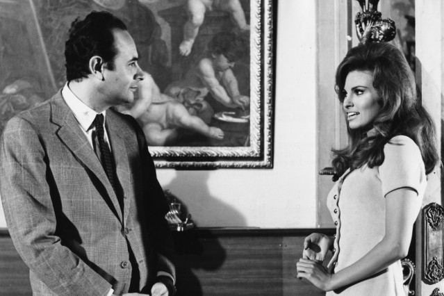 Raquel Welch And Stanley Donen