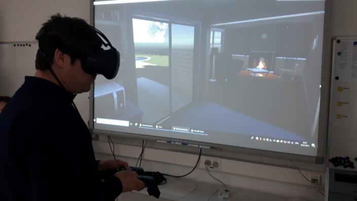 Virtual Reality Feuerwehr Training