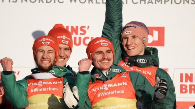 FIS Nordic World Ski Championships - Men's Team Ski Jumping HS130
