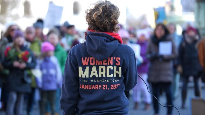 Women's March in München, 2019