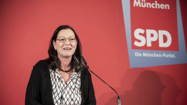 Claudia Tausend bei Dreikönigstreffen der SPD München, 2019