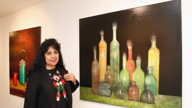 Iman Mahmud in der Galerie am See; Neu in der Galerie am See