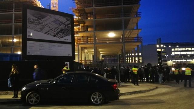 Razzia BMW Baustelle