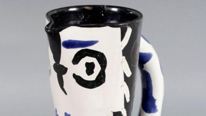 Keramikkrug von Picasso verschwunden