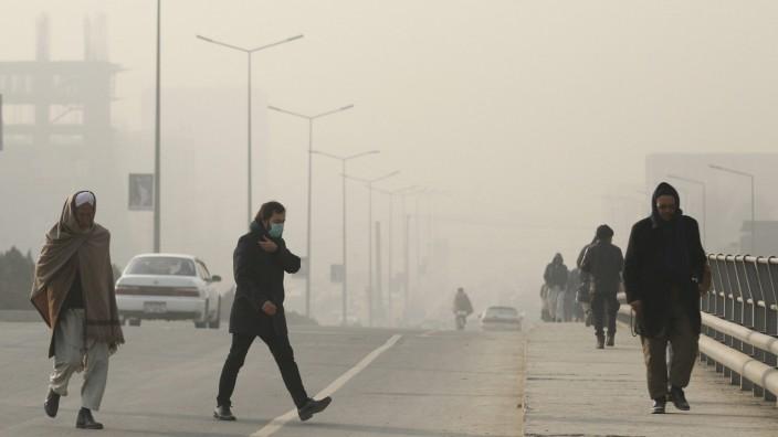 Luftverschmutzung - Kabul