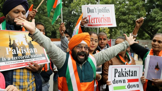 Reactions In New Delhi As India-Pakistan Tensions Escalate Following Air Strike