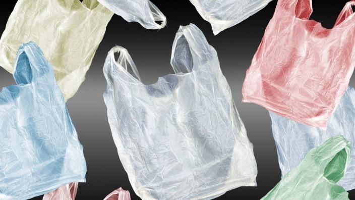 Kunststofftragetaschen