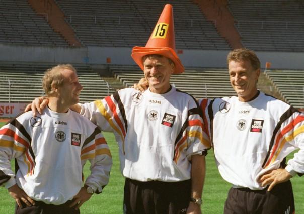 Vogts, Maier, Bonhof; Sepp Maier