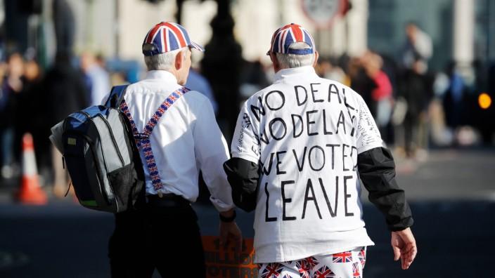 Brexit-Hardliner in London