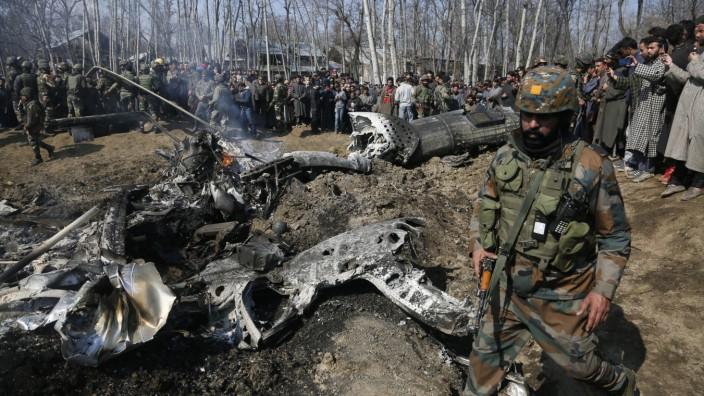 Kaschmir-Konflikt - Pakistan zerstörte im Februar 2019 ein indisches Flugzeug
