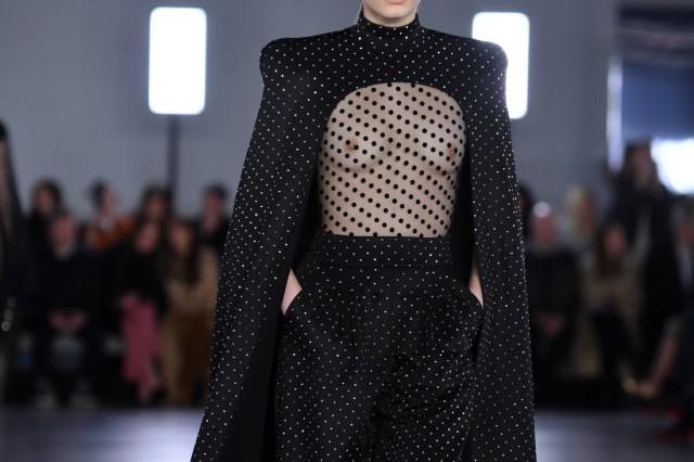 Balmain : Runway - Paris Fashion Week Womenswear Fall/Winter 2019/2020