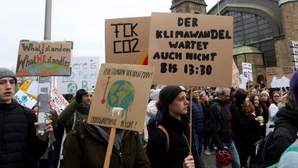 Greta Thunberg Joins Hamburg Climate Protest