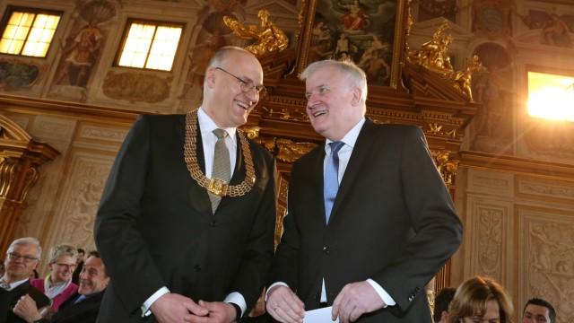 Horst Seehofer wird Ehrenbürger von Augsburg