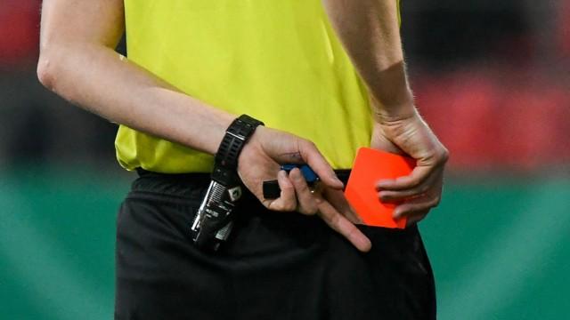 Fußball-Regeln: Rote Karte