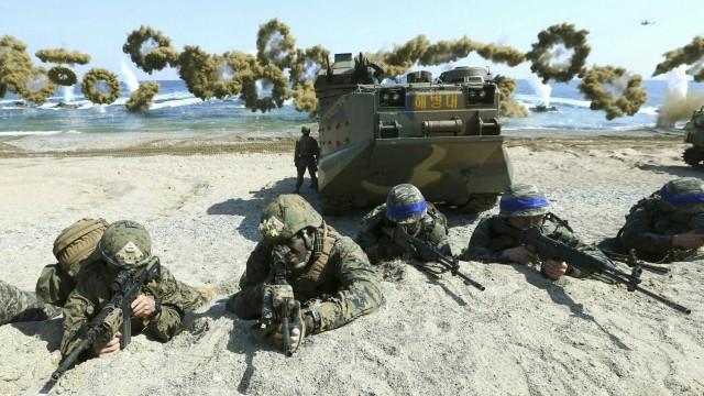 USA und Südkorea beenden gemeinsame Militärübungen