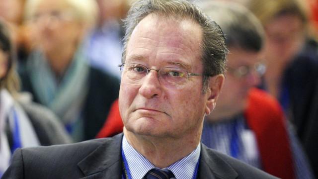 FDP-Politiker Klaus Kinkel 2014 in Bonn