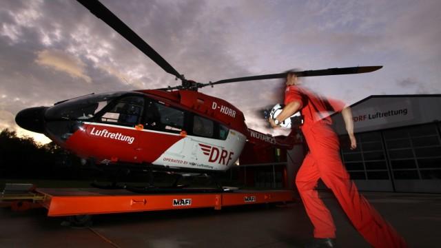 Rettungshubschrauber der DRF Luftrettung, 2011