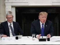 President Trump Participates In American Workforce Policy Advisory Board Meeting At The White House