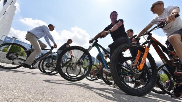 Mobiles Leben Fahrrad-Leasing