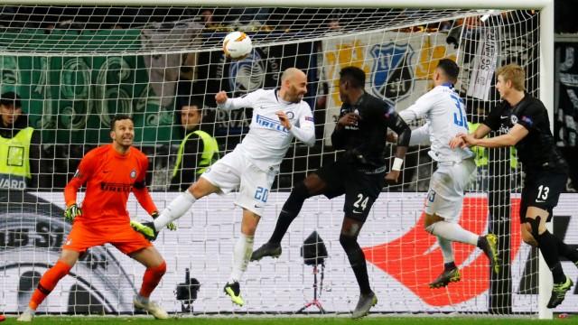 Europa League - Round of 16 First Leg - Eintracht Frankfurt v Inter Milan