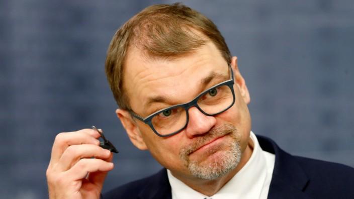 Finnland - Regierungschef Juha Sipilä
