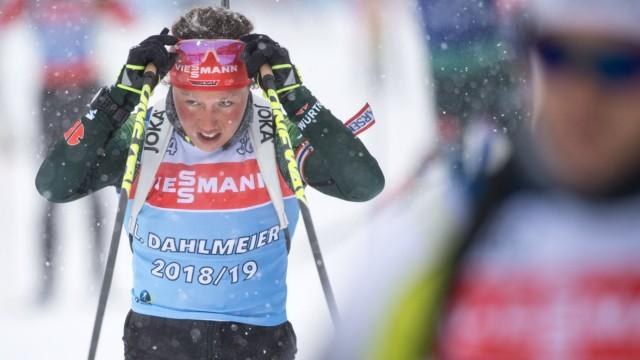 Biathlon - Laura Dahlmeier in der Saison 2018/19