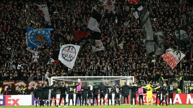 Eintracht Frankfurt v FC Internazionale - UEFA Europa League Round of 16: First Leg