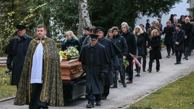 Beerdigung Jürgen Zarusky
