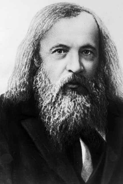 Dmitry Ivanovich Mendeleev Russian chemist and inventor no date Supplied By SCRSS Society for C