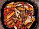 Rezept Ofengemuese mit Kapernvinaigrette Pastinaken Karotten Moehren Sueßkartoff