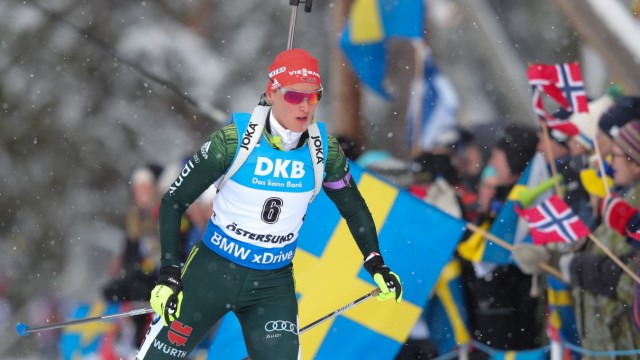 IBU Biathlon World Championships - Men's and Women's Pursuit