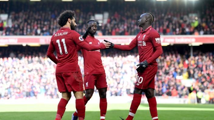 Internationaler Fussball Liverpool Ist Bereit Fur Die