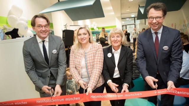 Eröffnung des neuen Studienzentrums für Diabetesforschung des Helmholtz Zentrums München, Heidemannstraße 1