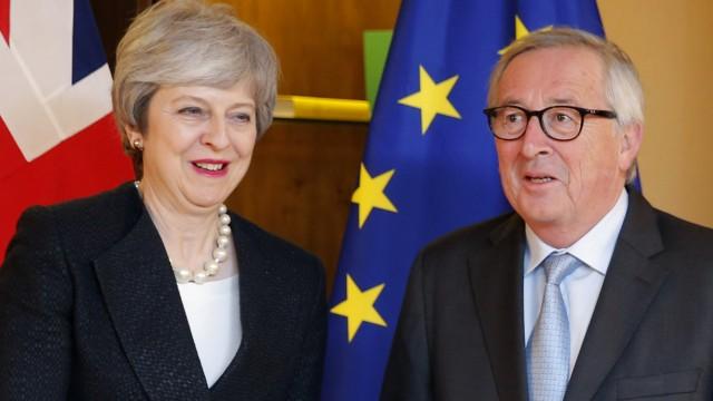 Britische Premierministerin in Straßburg