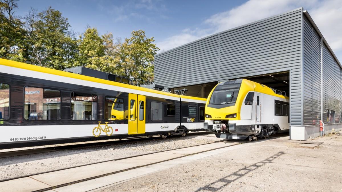 Konkurrenz für die Deutsche Bahn