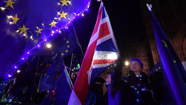 Politik Großbritannien Brexit-Abstimmung