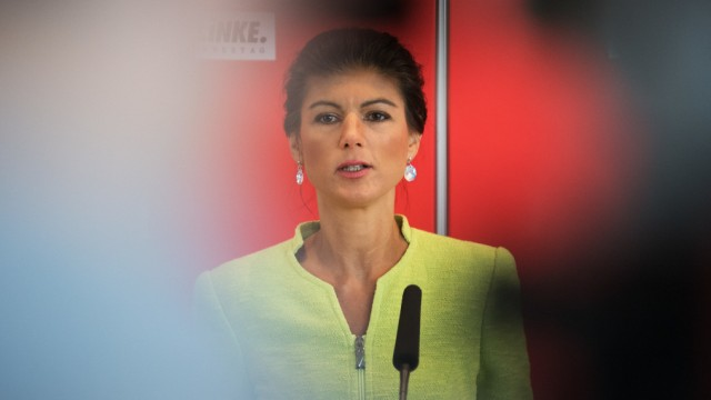 Sarah Wagenknecht, Fraktionsvorsitzende von Die Linke