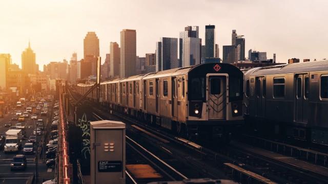 Subway im New Yorker Stadtteil Queens