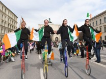 St. Patrick's Day Parade in München, 2018