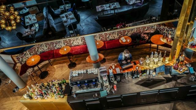 Restaurant Rocca Riviera in München, 2018